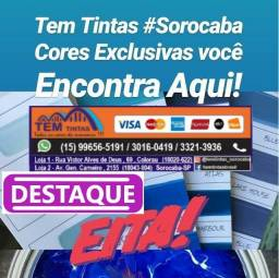 Oferta# Tinta semi lavável Apartir de 135,00 de 19,5 Litros /Ótimo custo benefício!