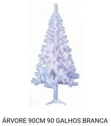 Árvore de Natal Branca 90 galhos