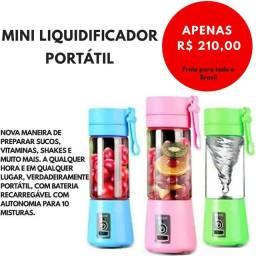Mini Liquidificador Portátil- APENAS ENCOMENDAS! RECEBA EM ATÉ 10 DIAS ÚTEIS!