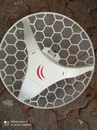 Antena LHG Mikrotik com poe