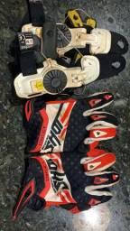 Protetor de punho motocross