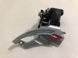 Câmbio dianteiro Shimano FD-M200 34,9mm dual 9v