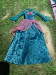 Barbie princesa da ilha (vestido)