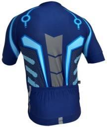 Camiseta De Ciclismo Gtx Azul Hero Mtb