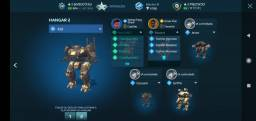 Conta do war robots vendo jogo.