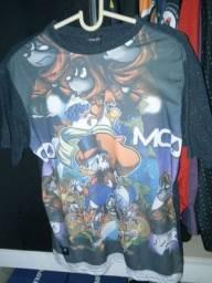 6 camisas novas originais G masculinas