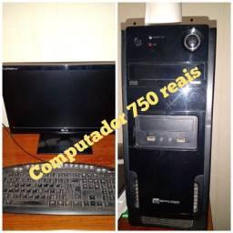 750 reais Barato computador completo