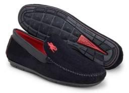 Sapato N.42 Camurça Mocassim Dock Sider Nobuck Masculino novos na cx