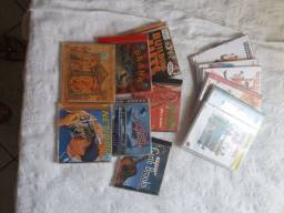 Coleção DVDs loucademia de polícia + 7cds de músicas. Skank, Bob Marley e outros