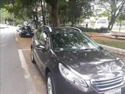 Peugeot 2008 1,6 16v Allure Automático Ano 2017 Cor Marrom