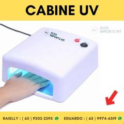 Cabine Uv 36w Com Garantia Estufa Boa Cura Seca Gel 110v