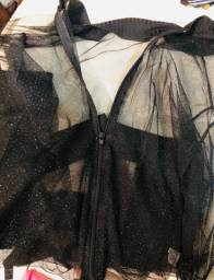 Camisa de tule
