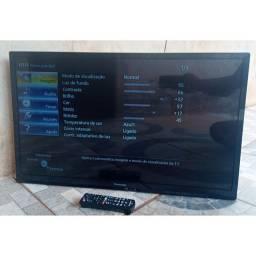 Tv Panasonic 32 Polegadas Led Com controle