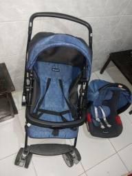 Carrinho de bebê+Bebê conforto Burigotto