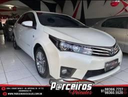 Toyota Corolla 2015 2.0 Blindado /  Entrada 8.200,00