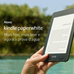 Kindle Paperwhite 8 Gb aprova d'água.