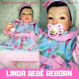 Bebê Boneca Reborn - Linda E Perfeita Promoção - P/ Adoção