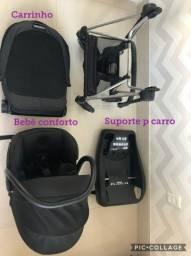 Carrinho (Cybex) + Bebe conforto (MaxCosi)-importados