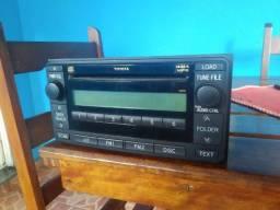 Radio som automotivo toyota hilux - modelo CQ-ET0882AZ