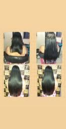 Aplico mega hair