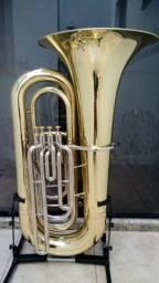 Tuba Weril 4/4 J981 Personalizada - Sib - Modelo novo - Aceito trocas - Parcelo 12x