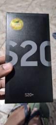 Galaxy S20 Plus Top de Linha Cor Cosmic Grey Completo com Nota Fiscal