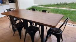 Mesas rústicas e semi rusticas