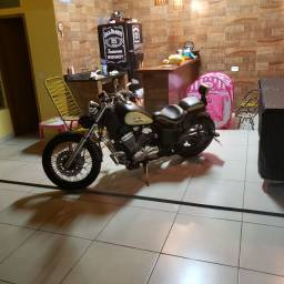 Moto 600 cc Honda Shadow