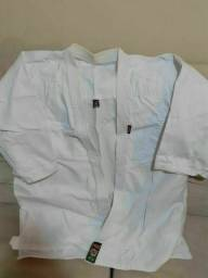 Kimono de Aikido / judô adulto tamanho Grande A3.
