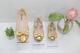 Mãe & filha sapatos coordenados