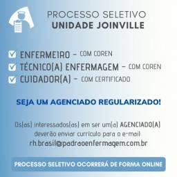 Agenciamos Enfermeiro(a), Técnico(a) e Cuidador(a) para Joinville
