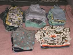 Lote roupa de menino