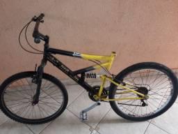 Bicicleta com mola central aro 26