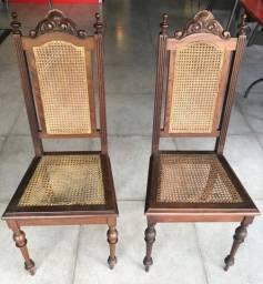 Cadeiras antigas madeira Nobre