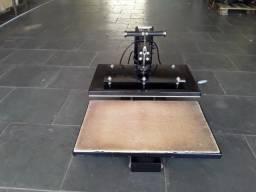Prensa de gaveta para camisas e brindes, prensa de canecas e impressora sublimática
