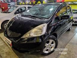 *Honda Fit 2010 manual 1.4 central multimidia troco e financio