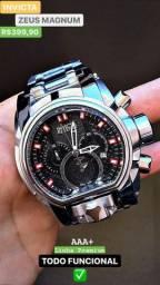 Relógios Importados linha invicta zeus magnum