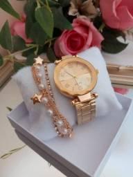 """Relógios com pulseiras """" PURO LUXO"""""""