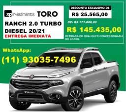 Fiat Toro Ranch 2.0 Diesel 20/21