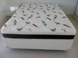 ::Conjunto Box + Colchao Plumatex Espuma Ultra firme casal (138x188);;