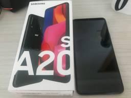 Samsung Galaxy A20s Dual SIM 32 GB preto 3 GB RAM
