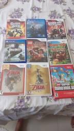 Nintendo Wii com mais de 8 jogos