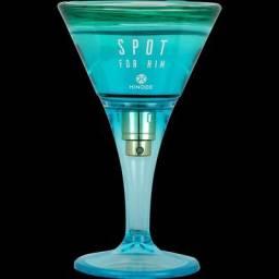 Perfume Spot for him masculino azul - spot feminino laranja 75ml lançamento