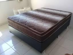 ::Conjunto Cama Box Colchao Ortobom Ortopedico casal (138x188) A Pronta Entrega;;