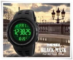 Relógio Skmei Mascara Negra Black