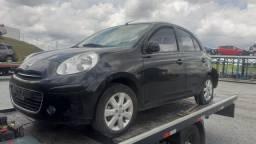 Porta traseira esquerda do Nissan March 2012/13/14/15/16/17/18