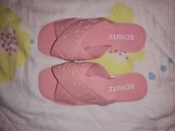 Sandália schutz (rosa bebê)
