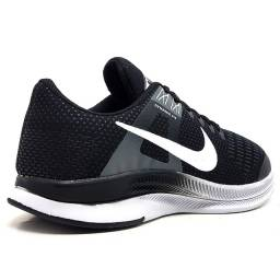 Kit 2 Tênis 1 Nike Air Force Gucci + 1 Nike Dynamic Preto e Branco