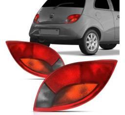 Lanterna Traseira Ford Ka 97 98 99 00 01 Ré Fumê