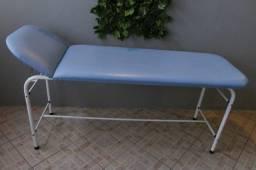 Maca azul , cabeceira reclinável.